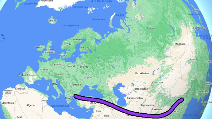 Traveling on Hippie Trail to Asia now
