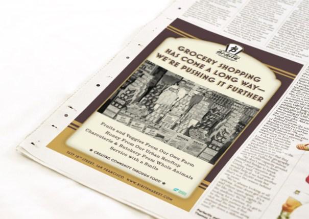 Bi-Rite Market newspaper ad