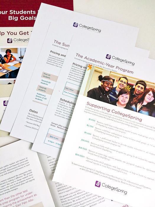 College Spring Media Kit