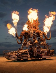 El Pulpo Mechanico by Duane Flatmo, photo by Scott London