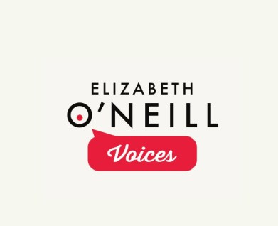 Elizabeth O'Neill Voices logo design