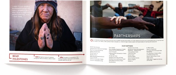 non profit annual report design