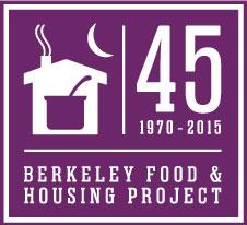 Identity design, logo design for Berkeley Food and Housing