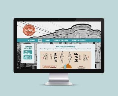 San Francisco's Valencia Street Corridor Merchant's Association website