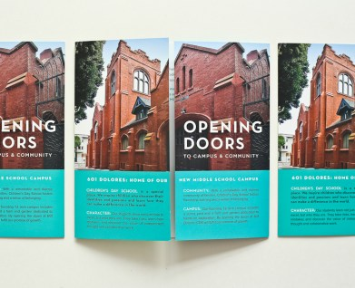 capital campaign brochure for san francisco independent school