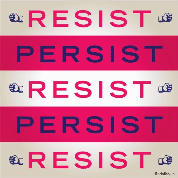 Resist Persist, Still she persisted, Elizabeth Warren