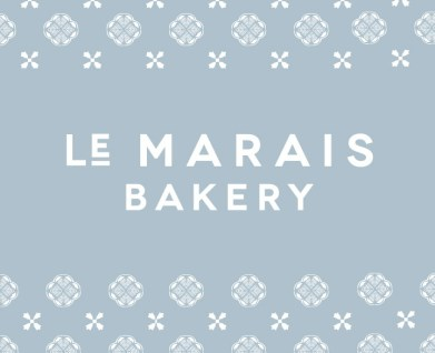 Bakery identity, branding and menu design