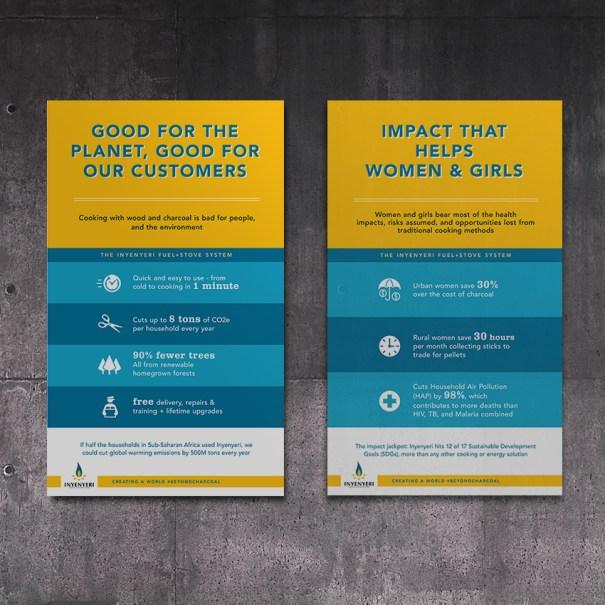 Inyeneri posters by Arin Fishkin Graphic Design