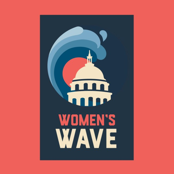 Women's March, Women's Wave branding and logo design