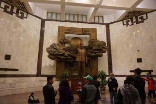 Patung Presiden Ho Chi Min