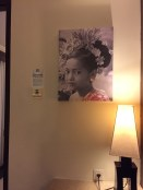 Lukisan Gadis Cilik Bali