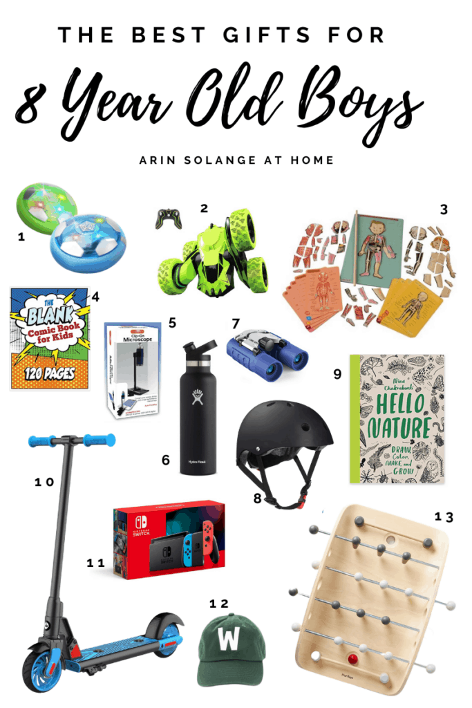 Gifts For 8 Year Boys That They Will Love Arinsolangeathome