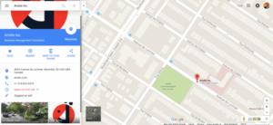 Résultats de votre inscription Google Local