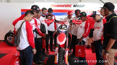Meet and great konsumen honda tim hrc mxgp 7