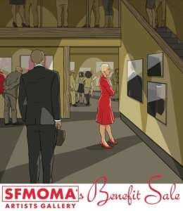 sfmoma warehose sale 2015