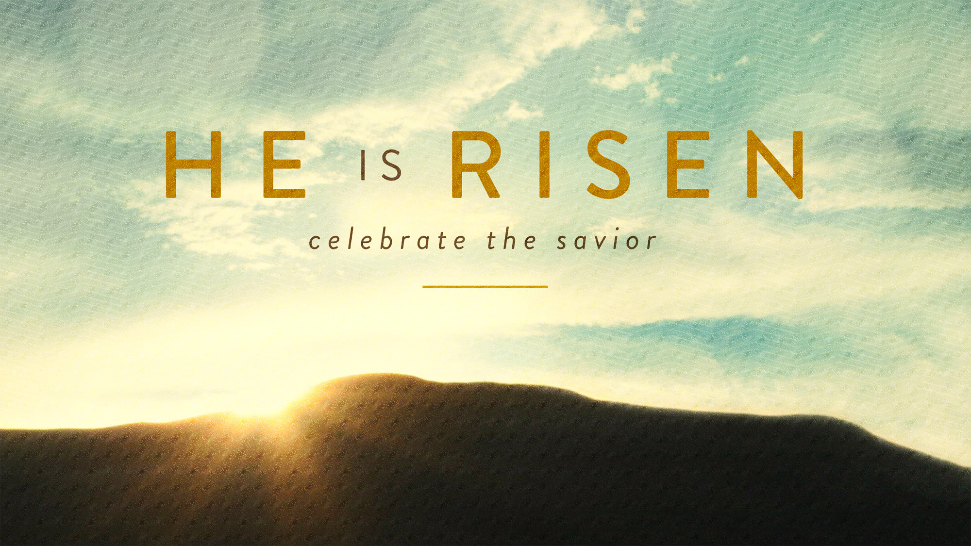 Celebrate the Saviour!