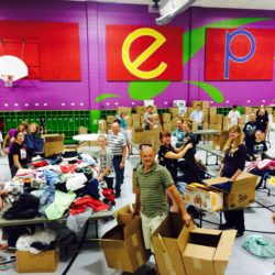 Clothing Drive 2015 Packing