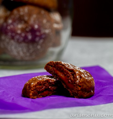 Mexican Hot Chocolate Cookies #vegan