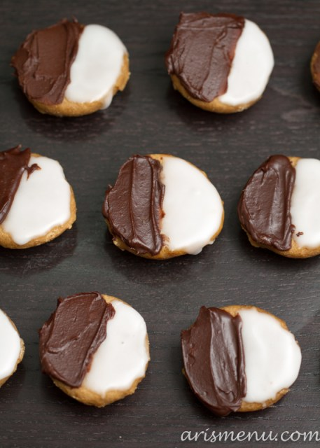 Black & White Cookies #vegan