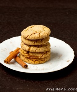 Chai Spiced Snickerdoodles {vegan}