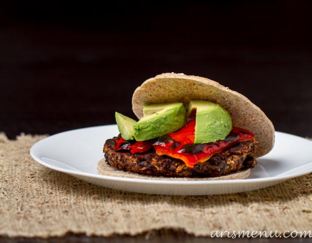 recipe: vegan gluten free black bean burgers [31]