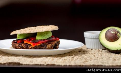 Black Bean Burgers #vegan #glutenfree