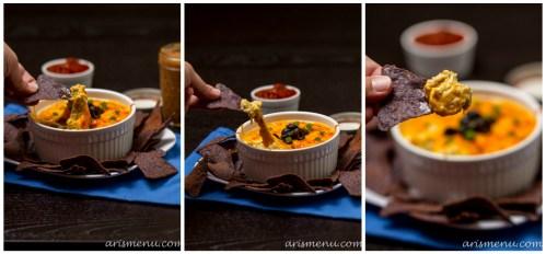 Chicken Enchilada Dip #glutenfree via www.arismenu.com