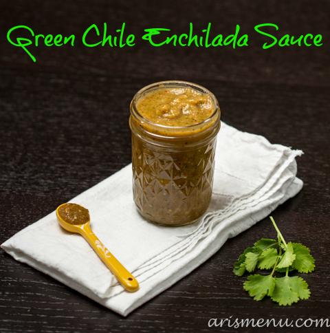 Green Chile Enchilada Sauce via www.arismenu.com