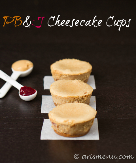 PB&J Cheesecake Cups