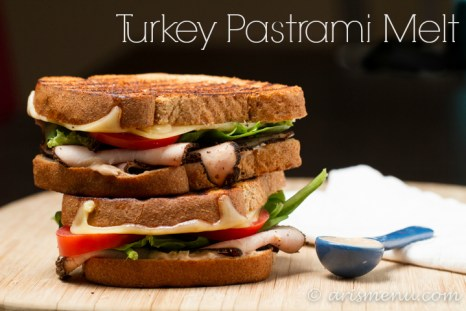Turkey Pastrami Melt