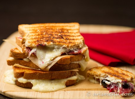 Red, White & Blue Grilled Cheese