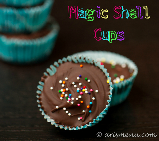 Magic Shell Cups