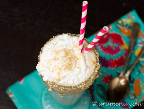 Banana Cream Pie Shake #vegan #glutenfree