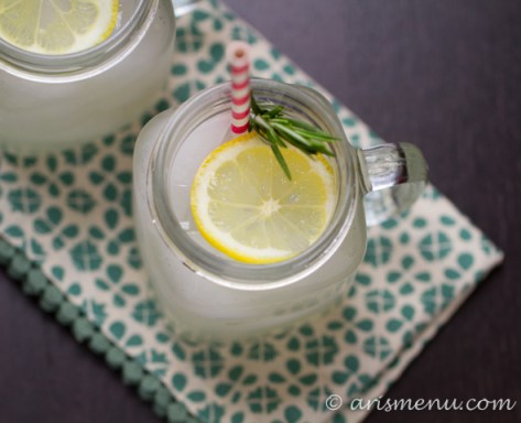 Rosemary Lemonade #sugarfree