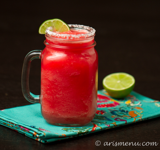 Restaurant-style Watermelon Margaritas