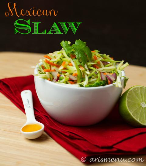 Mexican Slaw #vegan #glutenfree