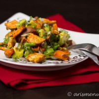 Sweet Potato Avocado Salad