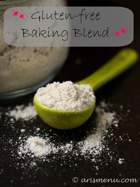 #GlutenFree Baking Blend