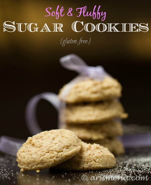 Soft & Fluffy Sugar Cookies {gluten-free}