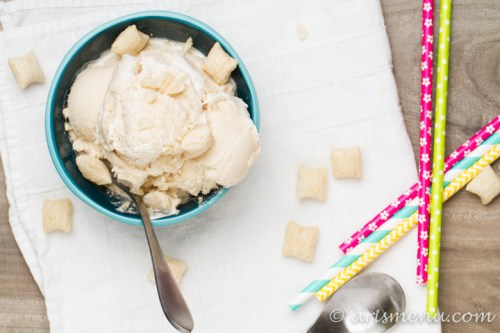 Cereal Milk Ice Cream: The best part of eating cereal meets melty, creamy ice cream!