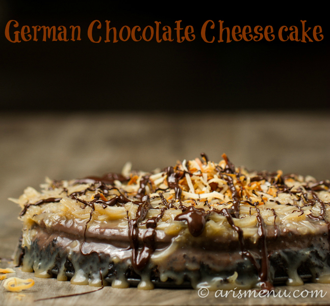 German Chocolate Cheesecake: My family's favorite cheesecake recipe!