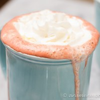 Boozy Red Velvet Hot Chocolate
