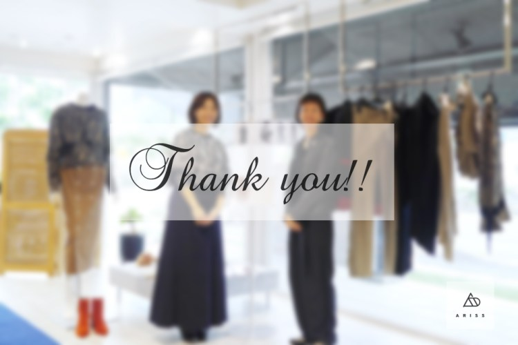 ありがとうございましたーー!「TAGE」展示予約会終了!
