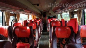 Bus Double Decker Putera Mulya Atas