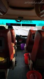 Bus Double Decker Putera Mulya Deck Atas