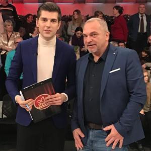 """На съёмках передачи""""Пусть говорят"""""""