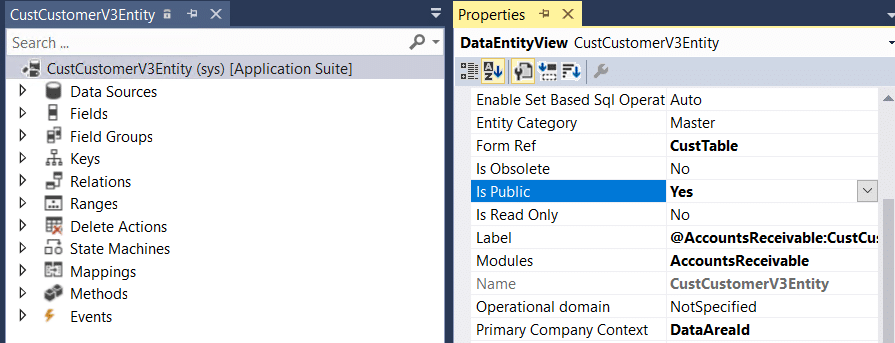 Generate number sequence values from REST services and OData