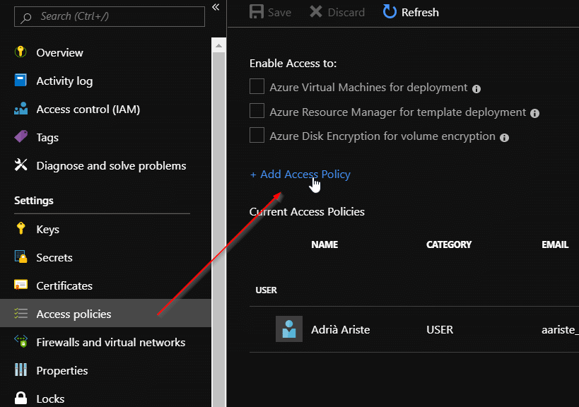 Setup Entity Store's export to Azure Data Lake storage 12