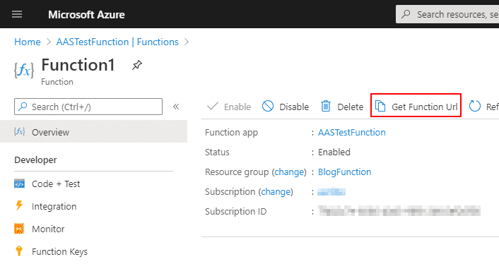 Azure functions y Dynamics 365 Finance and Operations 6