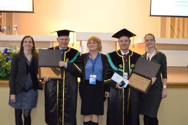 Επίτιμος Καθηγητής στο Karaganda State Medical University, Καζακστάν.jpg
